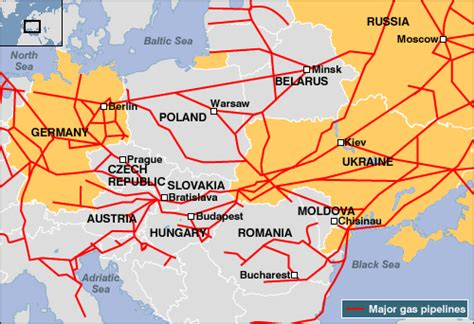russia europe gas pipelines map news enlarged image