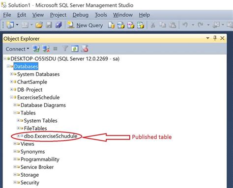 make database how to create database