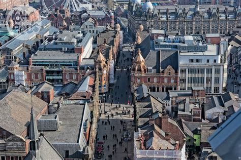 20 Square Metres photographs of leeds city centre panoramic views from