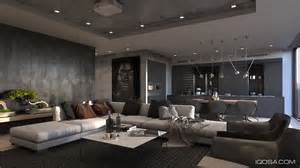 Large Scale Living Room Inspiring Exles Of Use Of Grey In Luxury Interior