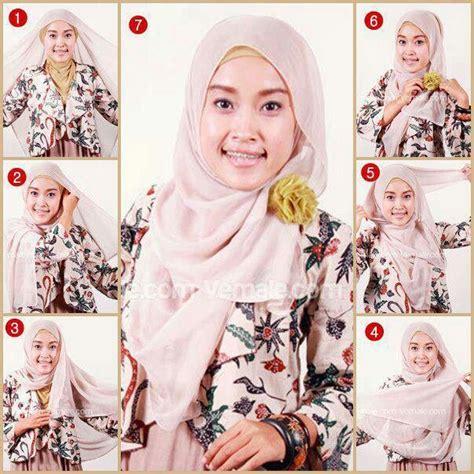 tutorial hijab simple jilbab paris 1000 images about hijab tutorial on pinterest simple