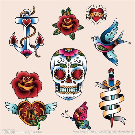 old school english tattoo designs 欧美纹身图案纹身设计矢量图 卡通设计 广告设计 矢量图库 昵图网nipic com