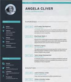 Graphic Resume Templates Free by Designer Resume Template 8 Free Sles Exles