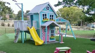 Build Backyard Playhouse Whimsical Outdoor Playhouses Quot Playhouse For Kids Quot