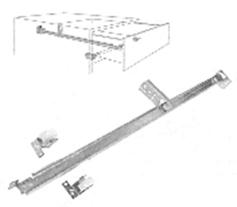 Monorail Drawer Slide by Kitchen Cabinet Doors And Cabinets Accessories