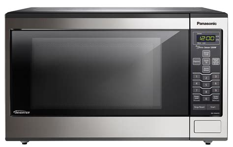 Can Countertop Microwaves Be Built In by Panasonic Nnsn643s 1 2 Cu Ft Countertop Built In Microwave With Inverter Technology