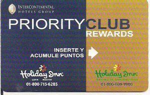 priority club inn hotel key card inn priority club 1