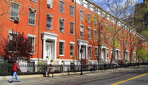 row houses on washington sq no a photo from new york