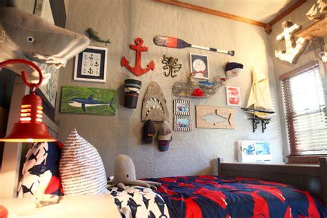 shark themed boys room project nursery