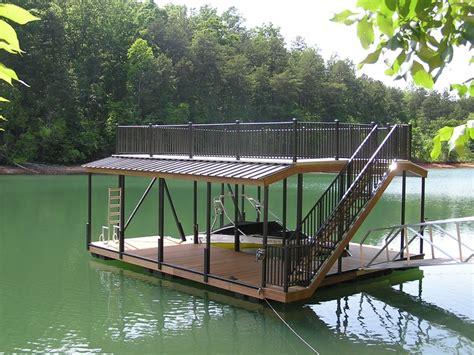 dock house plans sundeck boat dock lake house plans pinterest
