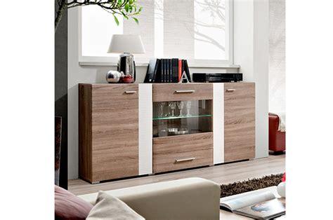meuble de rangement salle de bain 1559 buffet en bois et blanc moderne panama cbc meubles