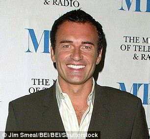 julian mcmahon promotes new show hunters in los angeles