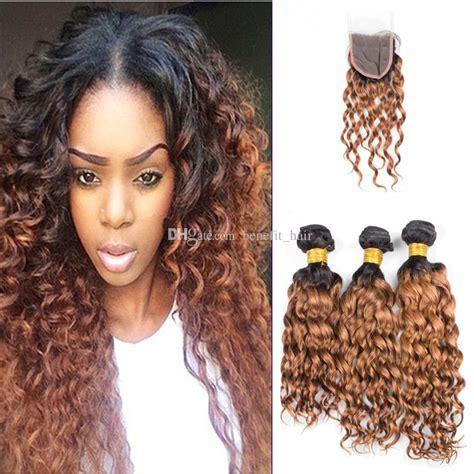 1b hair color ombre color 1b 30 human hair bundles with lace closure
