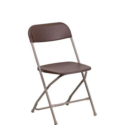 brown folding chair rental brown folding chair