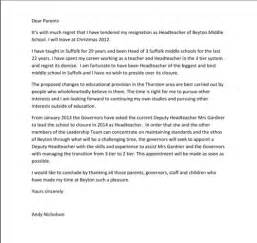 How To Write Resignation Letter Uk by How To Write A Resignation Letter Template Uk