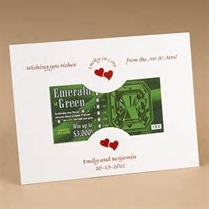Lottery Ticket Wedding Favor by Lottery Ticket Holder 25 Pcs Favor Packaging Wedding