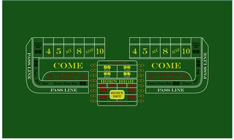 custom craps table layouts