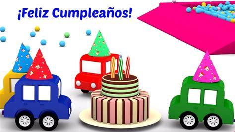 imagenes de feliz cumpleaños infantiles 4 coches coloreados 161 feliz cumplea 241 os dibujos animados