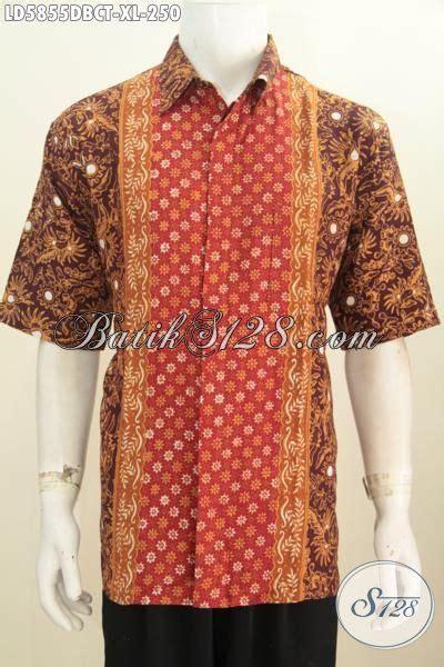 Kemeja Pendek Pria Batik Best Seller kemeja batik kerja pria terbaru busana batik pria 2018 bahan kain doby lengan pendek nan