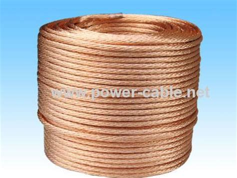 120mm2 bare grounding copper cable from china manufacturer