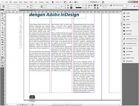 layout artikel majalah agar artikel menjadi majalah indesign kelas desain