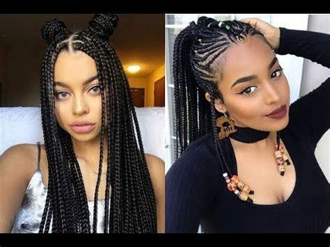 best ideas hairstyles for black 2018 best braids hairstyles ideas for black 2018
