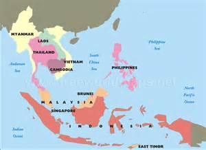 southeast asia map political southeast asia map political