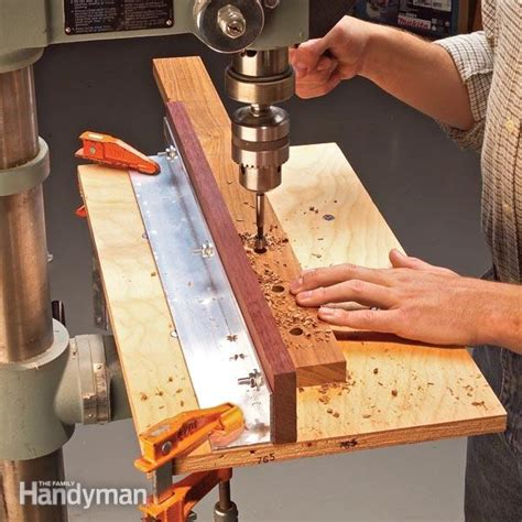 drill press jigs  family handyman