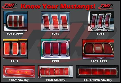 lights for mustang 1964 1973 lights ford mustang