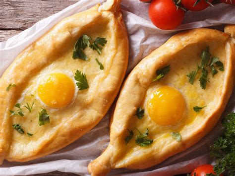 georgian khachapuri among world s best cheese dishes from