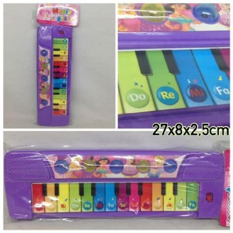 jual mainan musik piano ungu 0126an di lapak heartbeat