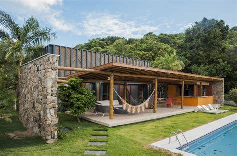 casa bambu casa bambu vilela florez archdaily brasil