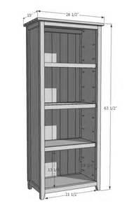 Kreg Bookcase Ana White Build A Kentwood Bookshelf Free And Easy Diy