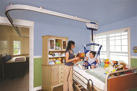 ceiling lifts solutions for transfers safety exercise