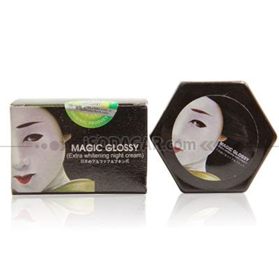 Magic Glossy Whitening magic glossy whitening isodagar
