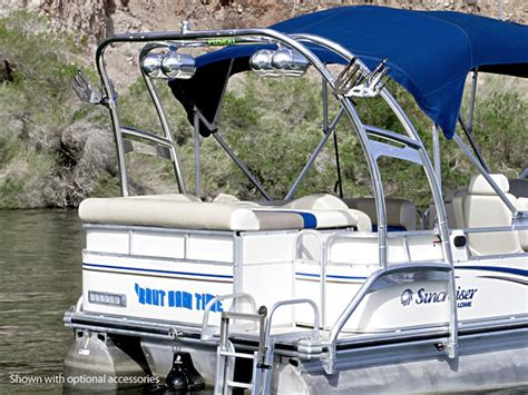 hydrofoil board behind boat wakeboard tower for pontoon boats this is how you can