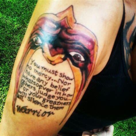 ultimate warrior tattoo my ultimate warrior ink dreams