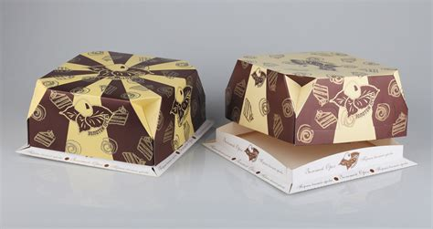design of cake box on behance