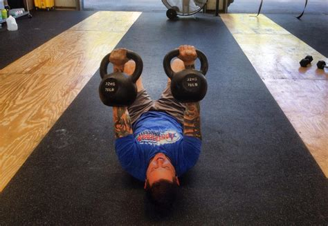 Floor Press by Floor Press And Burpee Box Jumps Mainland Crossfit