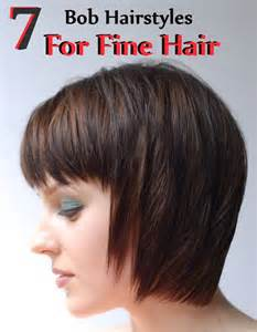 pictures of hairstyles for thinning hair due to chemo 7 bob hairstyles for fine hair style presso