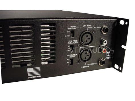 Power Lifier 4000 Watt pa power lifier smps 4000 watts max power lexon pro xl1500 ebay