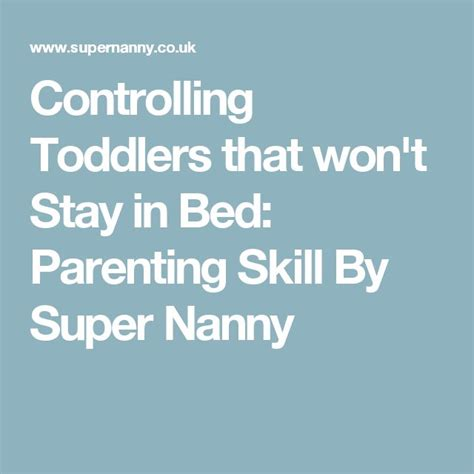 toddler won t stay in bed controlling toddlers that won t stay in bed parenting