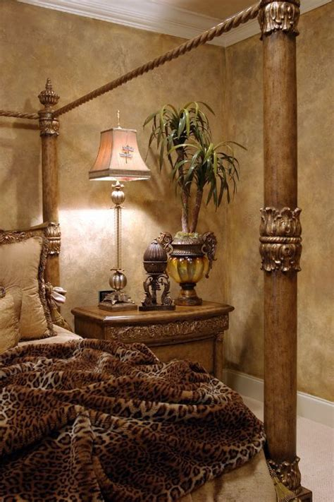 paint finish for bedroom faux finish walls and leopard print british colonial