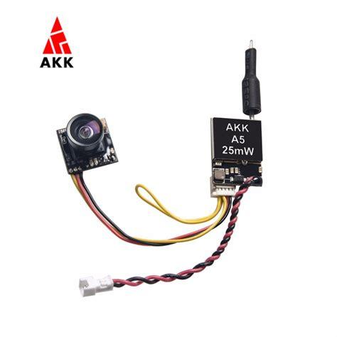 akk a5 5 8ghz 40ch 25mw fpv transmitter 600tvl cmos micro