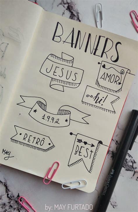 decorar titulos tumblr banners e t 237 tulos para decorar bullet journal dicas para