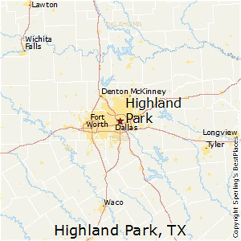 map of highland park texas best places to live in highland park texas