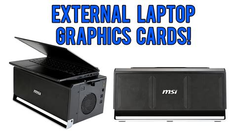 how to make a external graphics card external laptop graphics cards egpu s on the way