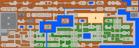 legend of zelda main map the legend of zelda maps zelda elements