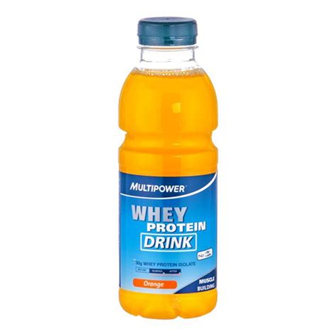 Juice Whey Protein Multipower Whey Protein Drink Orange For Protein