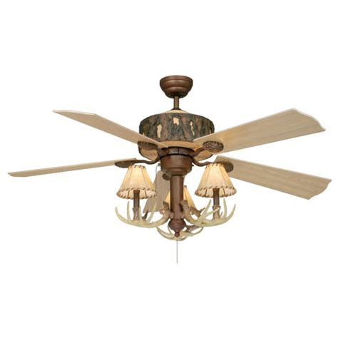 log cabin ceiling fans log cabin 52 quot ceiling fan weathered patina cabin fans
